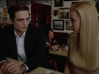 COSMOPOLIS: ELISE AND ERIC DISCUSS TIME AND SEX OVER LUNCH