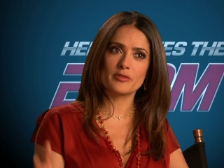 Here Comes The Boom Salma Hayek On How Bella Fits Into The Story