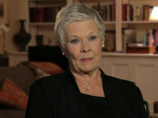 Skyfall Judi Dench On Being Excited About The Story