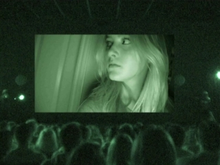 Paranormal Activity 4 Scared In Chelsea Uk