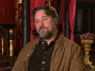 The Man With The Iron Fists Russell Crowe On How The Concept Came About
