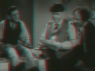 The Three Stooges In 3D Sing A Song Of Six Pants