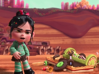 Ralph And Vanellope Make A Deal