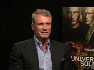 Video Interview With Dolph Lundgren