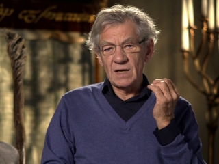 The Hobbit An Unexpected Journey Ian Mckellan Is Gandalf