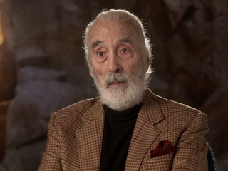 The Hobbit An Unexpected Journey Christopher Lee Is Saruman