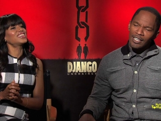 Video Interviews With Jamie Foxx And Kerry Washington