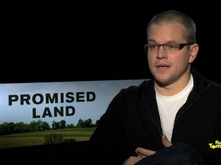 Video Interview With Matt Damon