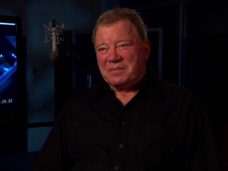 Escape From Planet Earth William Shatner On The Film