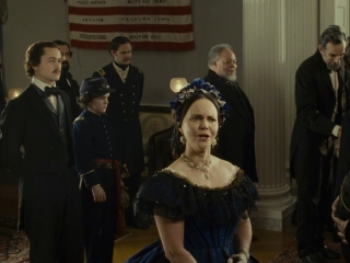 Lincoln Mary Todd Lincoln And Thaddeus Stevens At The Ball German