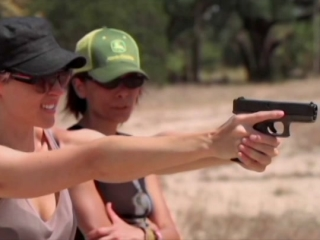 Loves Her Gun