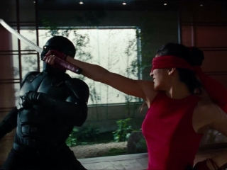 Gi Joe Retaliation Jinx Vs Snake Eyes