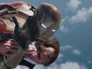 Iron Man 3 Air Force Rescue - Iron Man 3 - Flixster Video
