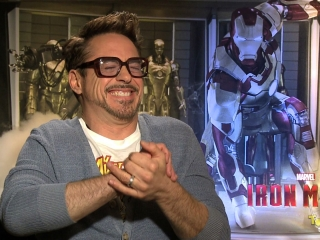 Rdj Is Iron Man