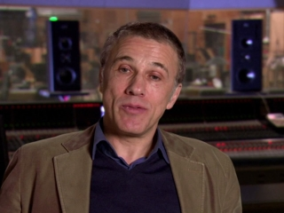 Epic Christoph Waltz On The Score Of Epic