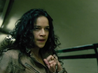 Fast  Furious 6 Letty And Riley Fight In The Subway Uk