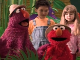 Sesame Street The Alphabet Jungle Game