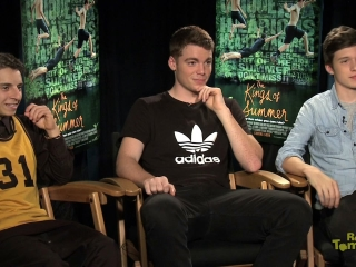 Cast Interview Kings Of Summer