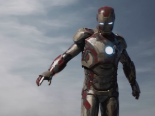 IRON MAN 3: AIR FORCE ONE RESCUE (GERMAN)