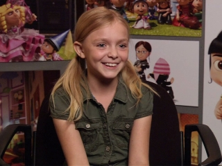 Elsie Fisher On The Minions