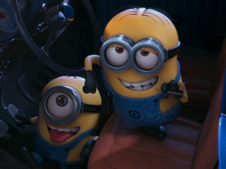 Lucy And Gru Are Rescued By Two Minions