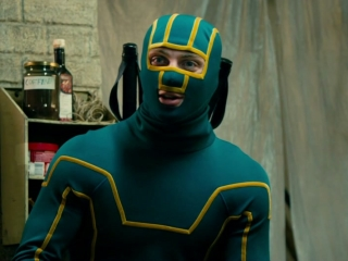 Kick-Ass 2: Kick Ass Recognizes Battle Guy At The Justice Forever Meeting