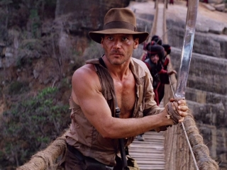 INDIANA JONES AND THE TEMPLE OF DOOM: THE BRIDGE