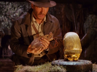 Raiders Of The Lost Ark: Indy Swipes The Idol