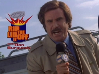 Anchorman The Legend Of Ron Burgundy Rip The LID Off Of It - Anchorman - The Legend Of Ron Burgundy - Flixster Video