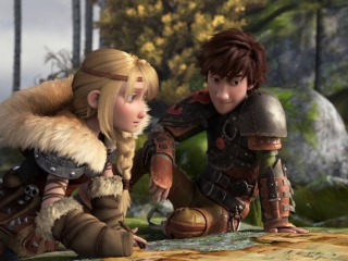How To Train Your Dragon 2 Hiccup And Astrid - How to Train Your Dragon 2 - Flixster Video
