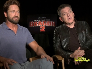 How To Train Your Dragon 2 Interview - How to Train Your Dragon 2 - Flixster Video