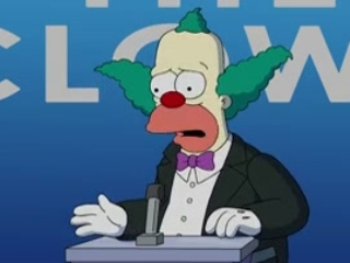 The Simpsons: Clown In The Dumps