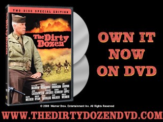 THE DIRTY DOZEN EXCLUSIVE CLIP: BORGNINE INTRODUCTION