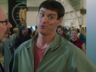 Dumb And Dumber To: Lloyd Is Questioned About Harry On The Way Into The Conference