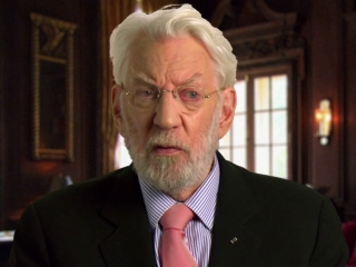 The Hunger Games: Mockingjay Part 1: Donald Sutherland On The Relevance Of The Films