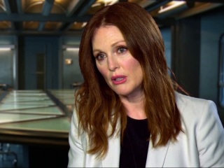 The Hunger Games: Mockingjay Part 1: Julianne Moore On Propos In The Film
