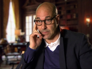 The Hunger Games: Mockingjay Part 1: Stanley Tucci On What He Likes About Playing Caesar