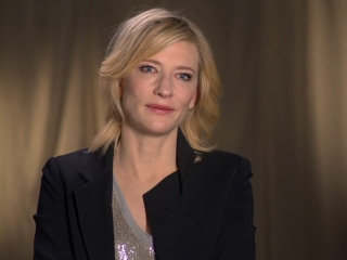 The Hobbit: Battle Of The Five Armies: Cate Blanchett On The Dol Gulder Set