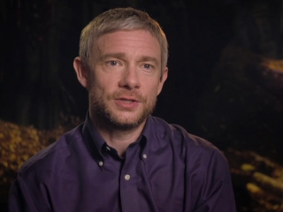 The Hobbit: Battle Of The Five Armies: Martin Freeman On Ian As Gandalf