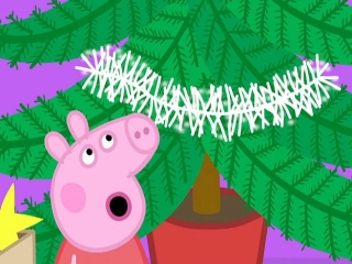Peppa Pig Peppas Christmas Xmas Tree