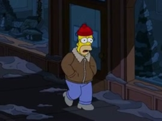 The Simpsons: I Won't Be Home For Christmas