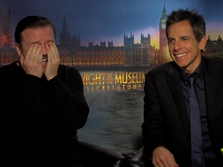 Night At The Museum Secret Of The Tomb Interviews