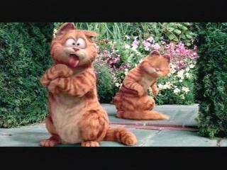GARFIELD A TALE OF TWO KITTIES SCENE: I SO KNEW YOU WEREN'T ME