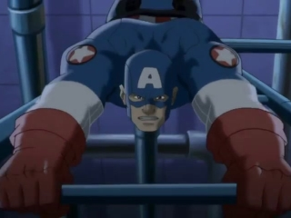Ultimate Avengers 2 Captain America