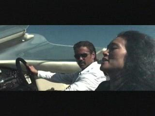 Miami Vice Scene Crockett And Isabella Head To Cuba