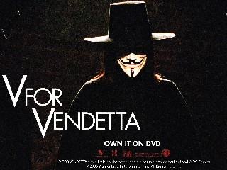 V For Vendetta Scene Against Authority