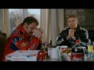 Talladega Nights Scene Dinner Table Part 1