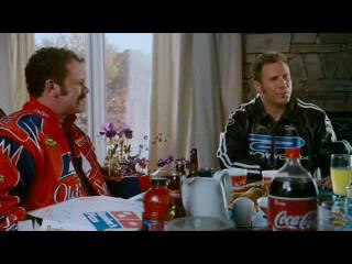 Talladega Nights Scene Dinner Table Part 2