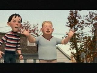 Monster House Scene Detectable Movement