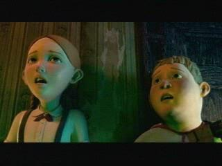 MONSTER HOUSE SCENE: IT'S A GIRL HOUSE